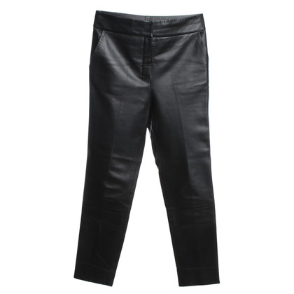 By Malene Birger Leather pants in black
