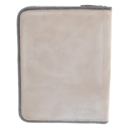Brunello Cucinelli Tablet Case aus Leder