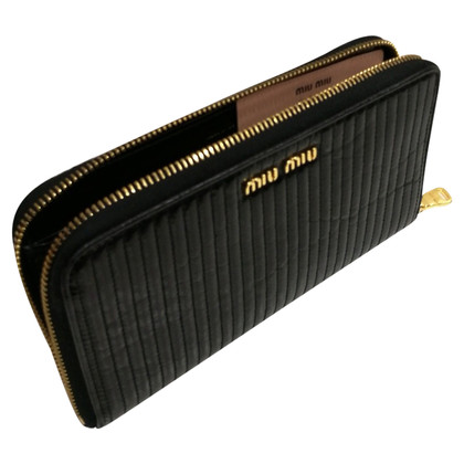 Miu Miu Money bag in black