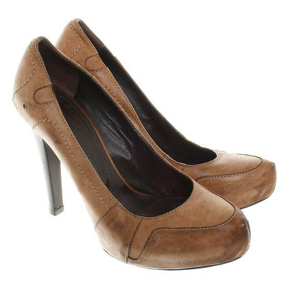 Gianmarco Lorenzi pumps leer
