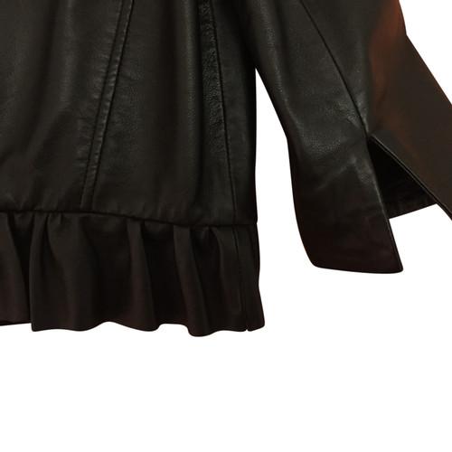 new concept 0d434 63358 Max & Co Giacca in pelle con braccio di 7/8 - Second hand ...