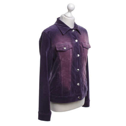 Escada Velvet jacket in purple
