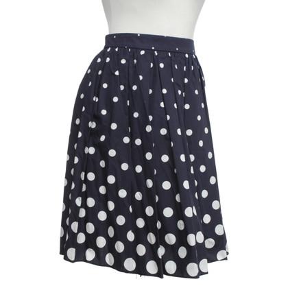 Miu Miu skirt with dot pattern