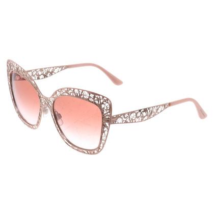 Dolce & Gabbana Rose gold sunglasses