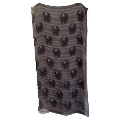 Alexander McQueen Zijden sjaal ontwerp afdrukken