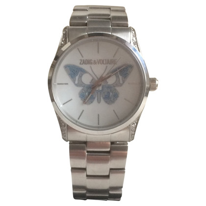 """Zadig & Voltaire Clock """"Butterfly"""""""