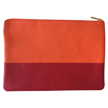 Céline clutch in Bicolor