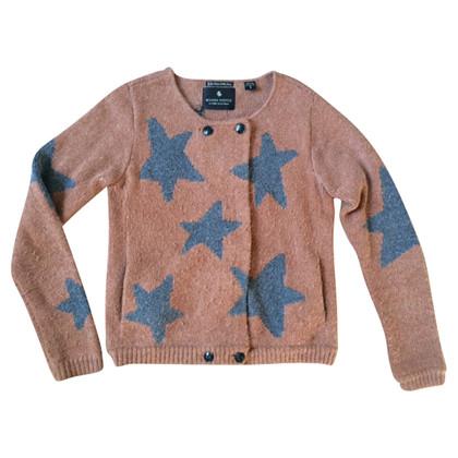 Maison Scotch Cardigan with stars