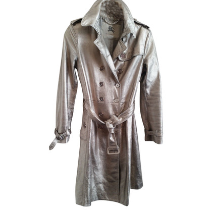 Burberry URBERRY LONDON Trench en cuir or