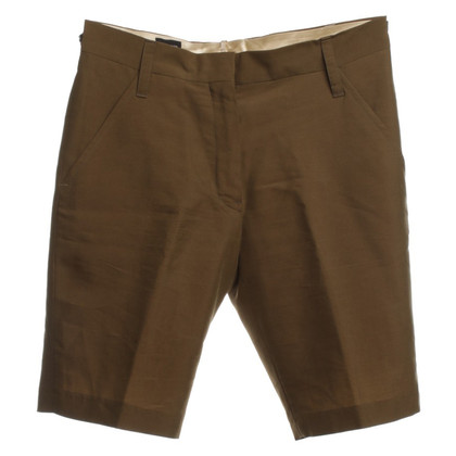 Jil Sander Shorts in Oliv
