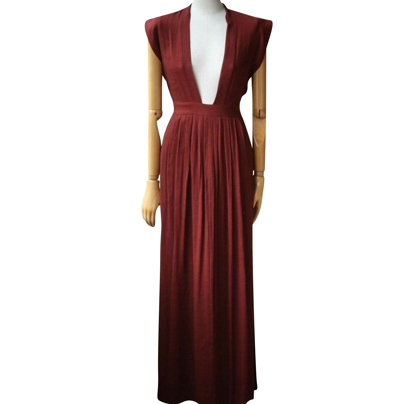Isabel Marant Kleid in Bordeaux - Second Hand Isabel Marant Kleid