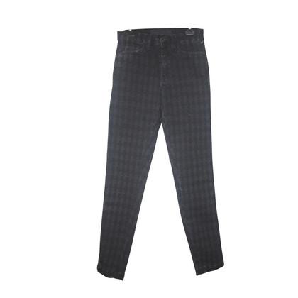 Karl Lagerfeld Monogram Skinny Jeans