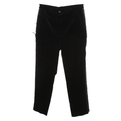 MM6 by Maison Margiela Velvet trousers