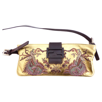Fendi Evening bag with embroidery