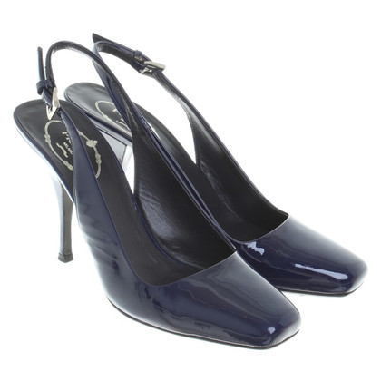 Prada Slingbacks Patent Leather