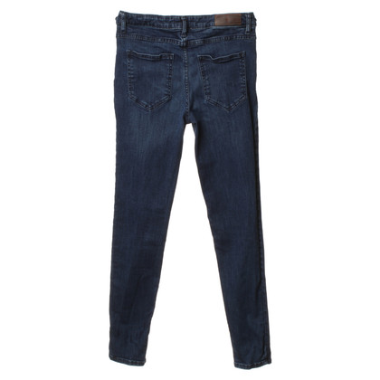 American Vintage Jeans slim fit in blu scuro