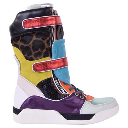 Dolce & Gabbana Stivali scarpe da ginnastica guardano