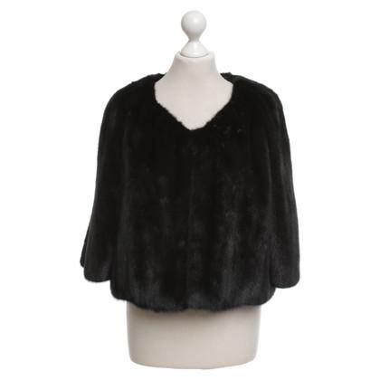 Rosenberg & Lenhart Mink jacket in black