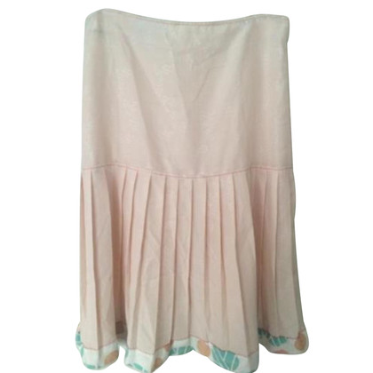 Noa Noa Pleated skirt light pink