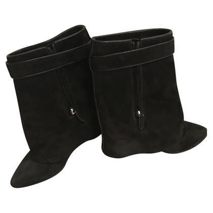 Givenchy  Shark-Lock Fold-Over Ankle Boot