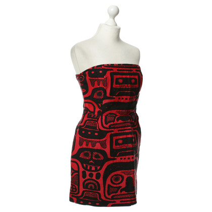 JC de Castelbajac Mini dress in red