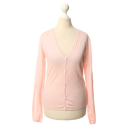 Allude Cashmere Cardigan pink