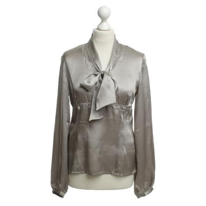 St. Emile Silk blouse beige