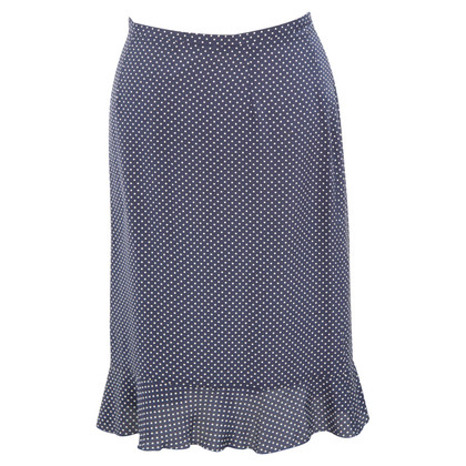 L.K. Bennett Silk skirt with pattern