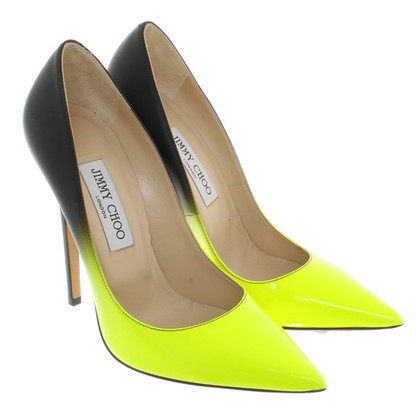 Jimmy Choo pumps with color gradient