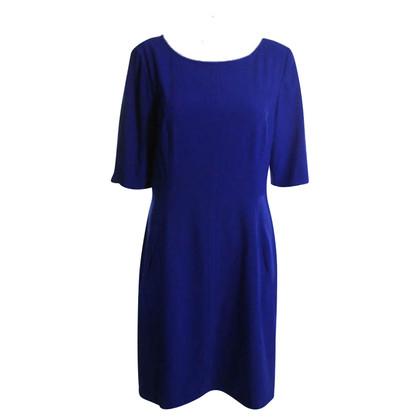 Tahari Schede jurk in Royal Blue