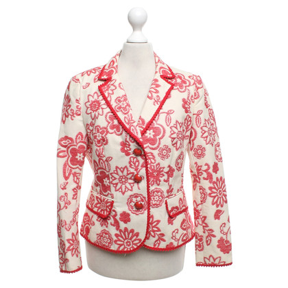 Moschino Cheap and Chic Blazer mit Muster