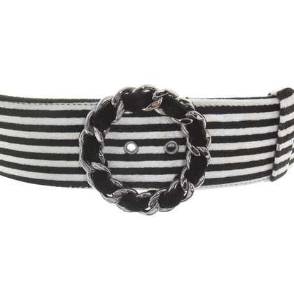 Chanel Belt with striped pattern