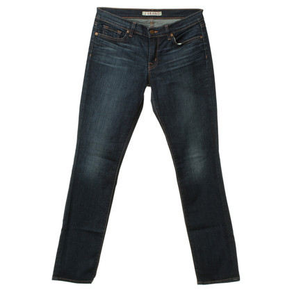 J Brand Jeans in denim con lavaggi