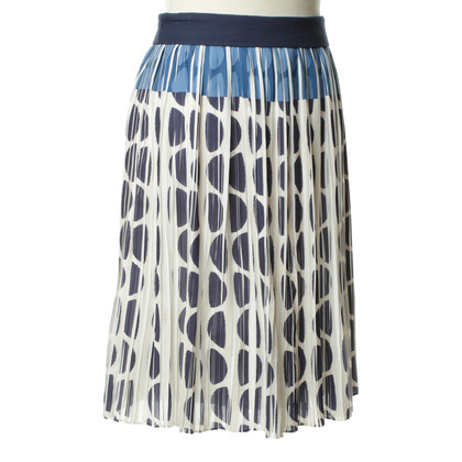 Diane von Furstenberg Patterned pleated skirt