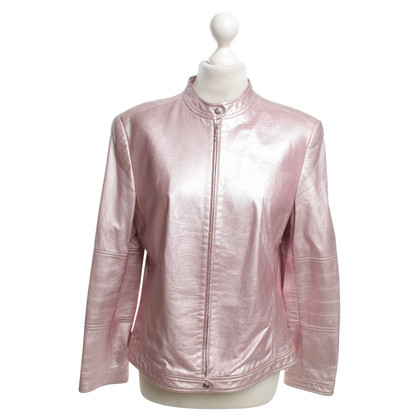 Escada Leather jacket in pink
