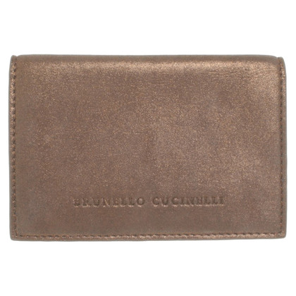 Brunello Cucinelli Pencil case with mirror