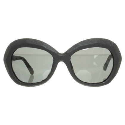 Linda Farrow Sunglasses with snakeskin