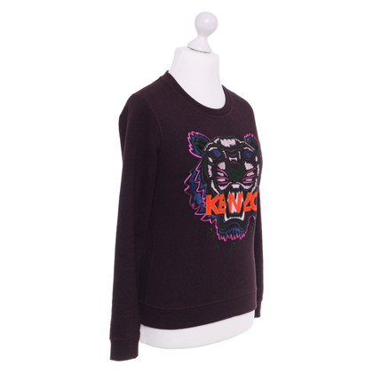 Kenzo Sweater with lion head embroidery