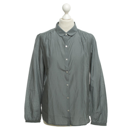 Maison Scotch Bluse in Grau