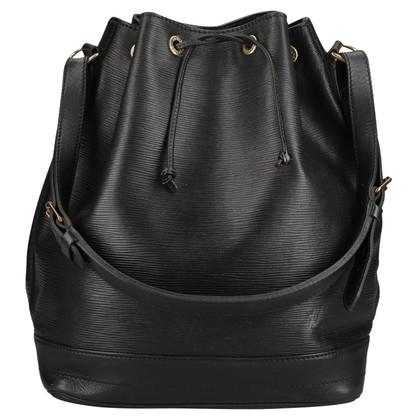 Louis Vuitton Grand Noé Epi Leather Black