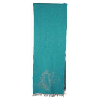 Hermès Cashmere / wool scarf