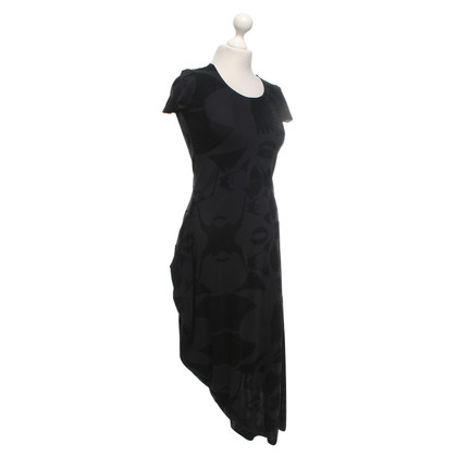 Marithé et Francois Girbaud Lange jurk in zwart