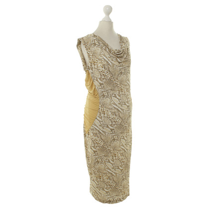 Escada Dress with Leopard print