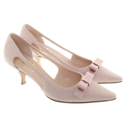 Unützer Suede pumps in Nude