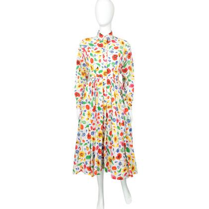 Kenzo Floral Shirt Dress - 1970's