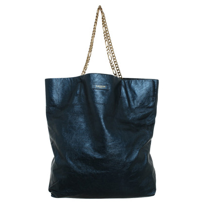 Lanvin Tote Bag in donkerblauw