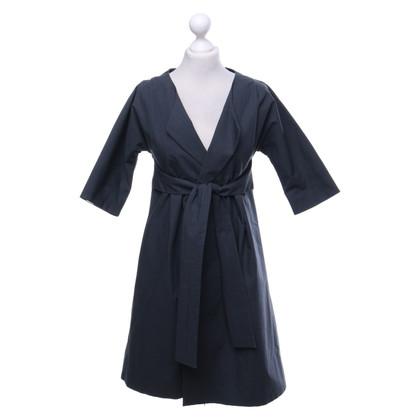Marni Coat in grey blue