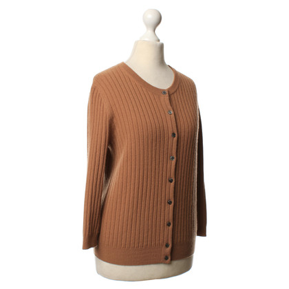 Allude Short Cardigan in cashmere