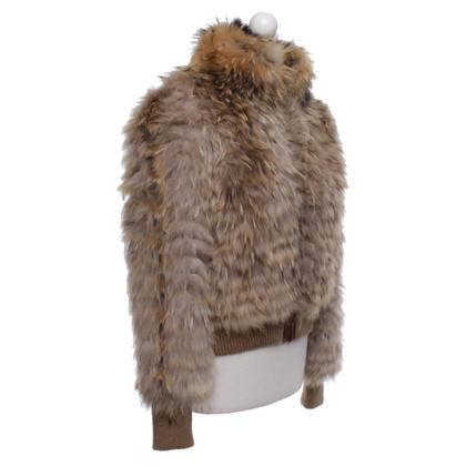 Giorgio Brato giacca di pelliccia in beige