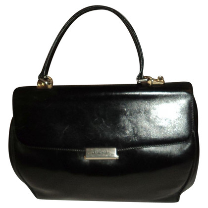 Sergio Rossi Black leather handbag